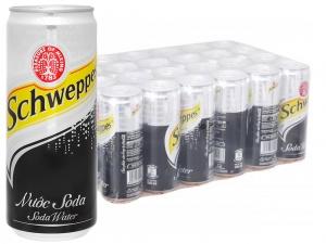 24 lon soda Schweppes 330ml (thùng 24 lon)