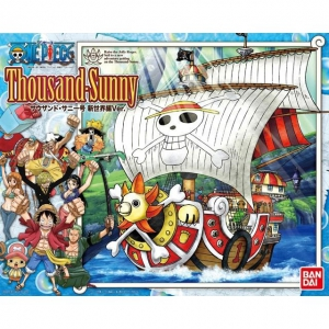 Thousand Sunny Serie One Piece Mô Hình Lắp Ráp Bandai