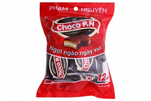 Bánh Choco P&N Phạm Nguyên 216g (12 cái)