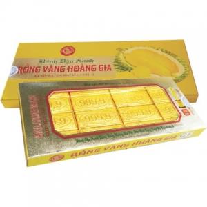 Bánh đậu xanh sầu riêng hoàng gia - hộp 170g