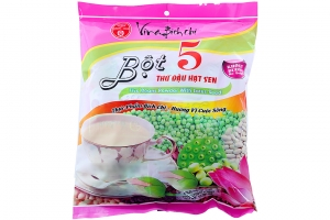 Bột 5 thứ đậu hạt sen không đường Bích Chi bịch 300g