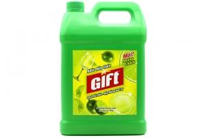 Nước rửa chén Gift hương Chanh - can 4kg