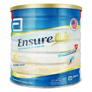 Sữa Bột Abbott Ensure Gold hương vani (1.45kg)