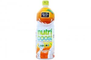 Lô 2 chai sữa trái cây Nutri Boost Cam chai 1 lít