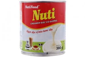 Lô 2 sữa đặc có đường Nuti đỏ 380g