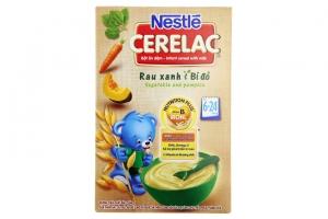 Bột ăn dặm Nestle Rau xanh Bí đỏ cho trẻ từ 6-24 tháng 200g