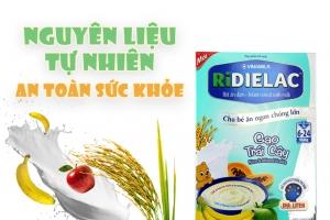 Bột ăn dặm Ridielac Gạo Trái Cây cho trẻ từ 6-24 tháng 200g