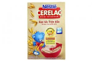 Bột ăn dặm Nestle Gạo Lức Sữa cho trẻ từ 6-24 tháng 200g