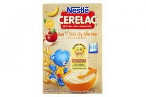 Bột ăn dặm Nestle Gạo Trái Cây cho trẻ từ 6-24 tháng 200g