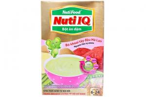 Bột ăn dặm Nuti IQ Bò khoai tây cho trẻ từ 6-24 tháng 200g