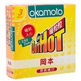 Bao cao su Okamoto Dot De Hot 52mm (hộp 3 cái)