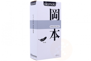 Bao cao su Okamoto Skinless Skin Purity 53mm (hộp 10 cái)