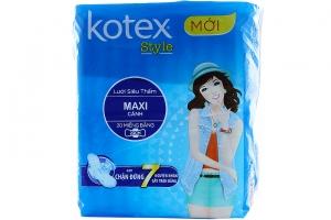 Băng vệ sinh Kotel Style lưới siêu thấm có cánh 20 miếng