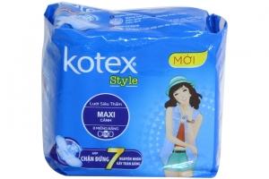 Băng vệ sinh Kotex ban ngày Style lưới siêu thấm có cánh 8 miếng