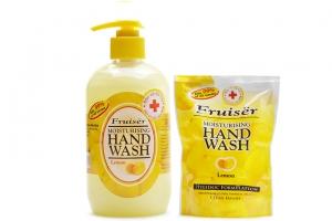Combo Nước rửa tay Fruiser Chanh Chai 500ml và túi 400ml