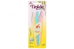 Dao cạo chân mày Tinkle (Bộ 3 cây)