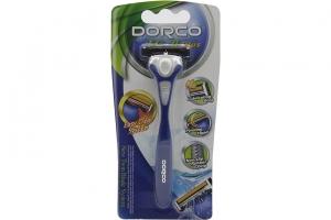 Bộ dao cạo râu DorCo TG-II Plus lưỡi kép (1 cây)