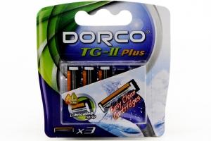 Lưỡi dao cạo râu DorCo TG-II Plus cấu trúc mở (3 lưỡi)