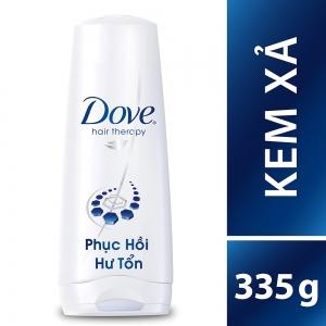 Kem Xả Dove Phục Hồi Hư Tổn (335g)