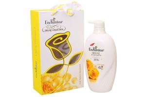 Hộp quà Sữa tắm Enchanteur Charming 650g