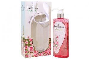 Hộp quà Sữa tắm Enchanteur hương hoa Hồng cân bằng 500g