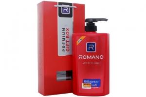 Hộp quà Dầu gội Romano Attitude 650g