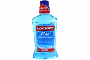 Nước súc miệng Colgate Plax Freshmint 500ml