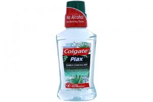 Nước súc miệng Colgate Plax Bamboo Charcoal chai 250ml
