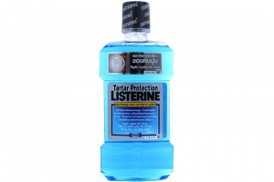 Nước súc miệng Listerine Tartar Protection 500ml