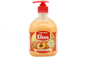 Sữa rửa tay Kleen hương đào 500ml