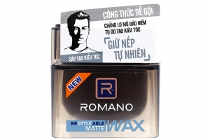 Sáp tạo kiểu tóc Romano Matte Tự nhiên 68g