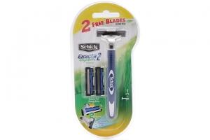 Dao cạo râu Schick Exacta II System Sensitive (2 lưỡi)
