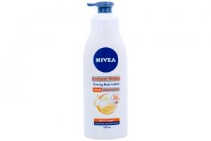 Sữa dưỡng thể Nivea săn da Instant White SPF30 PA++ 350ml
