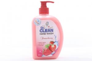 Sữa rửa tay Dr.Clean hương dâu chai 500ml