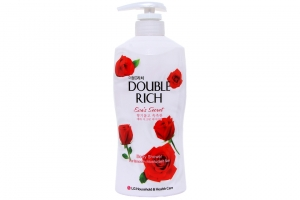 Sữa tắm Double Rich hương hoa Hồng Đỏ 550g