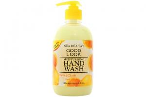 Sữa rửa tay Good Look dưỡng ẩm hương Chanh chai 500ml