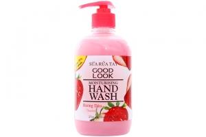 Sữa rửa tay Good Look dưỡng ẩm hương Dâu chai 500ml