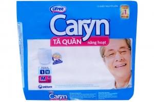 Tã quần năng hoạt Caryn size M 8 miếng