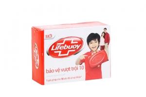 Xà bông cục Lifebuoy bảo vệ vượt trội 10 125g