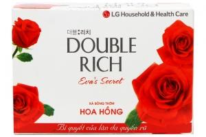 Xà bông cục Double Rich hương hoa Hồng 90g