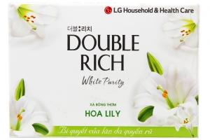 Xà bông cục Double Rich hương hoa Lily 90g