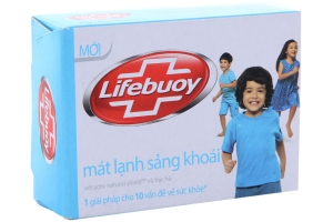 Xà bông cục LifeBuoy mát lạnh sảng khoái 90g