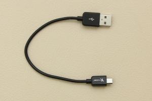 Cáp Micro USB 20 cm X Mobile MU03 Đen