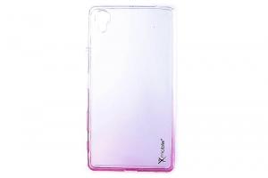 Ốp lưng Sony X Nhựa dẻo X Mobile Nude Đỏ
