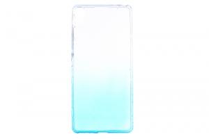 Ốp lưng Xperia XA Nhựa dẻo Shining Paper COSANO Nude Xanh dương