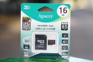 Thẻ nhớ Micro SDXC/SDHC 16Gb Class 10 Apacer R85