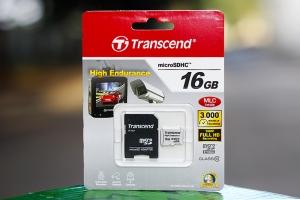 Thẻ nhớ Micro SDXC/SDHC High Endurance 16GB Transcend