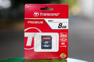 Thẻ nhớ SDXC/ SDHC 8GB Class 10 Transcend