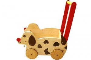 Đồ chơi gỗ Winwintoys Xe chó chở đồ chơi 62012K