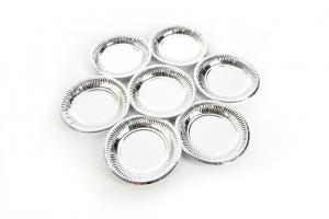 Dĩa 13 bạc đế trắng Hunufa (10 cái)